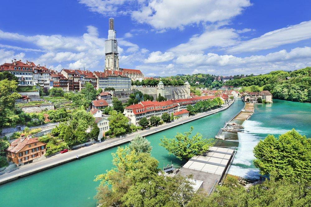 نمایی از برن در سوئیس