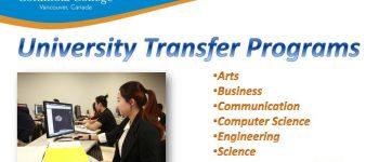 University Transfer Programs